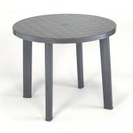 62658e9cd176 Plastový stôl Tondo - guľatý